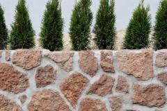 Mauer aus Adneter
