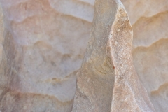 Findling Untersberger Marmor