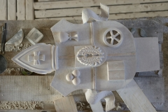 Marmorsaal Augustinerbräu Wappen