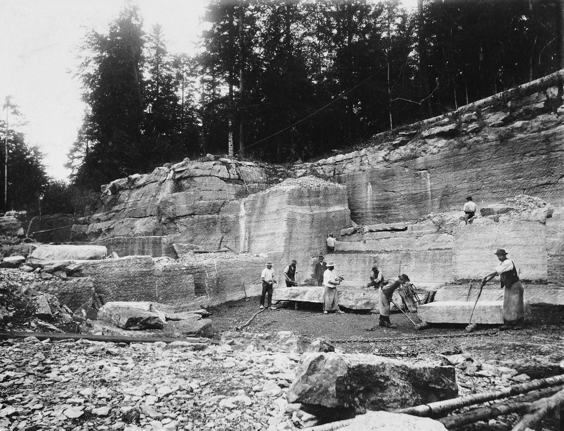 Lienbacherbruch, vor 1900