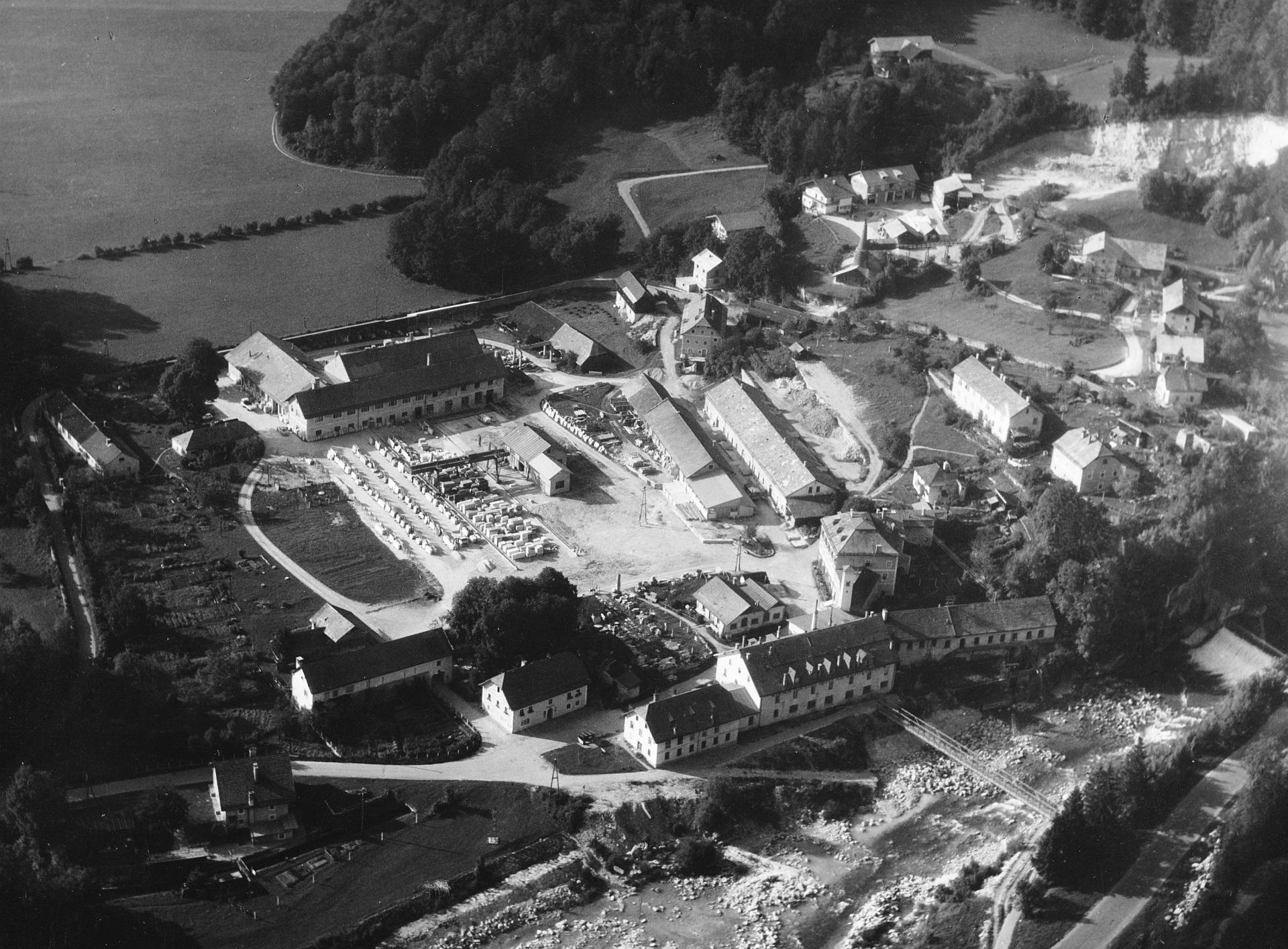 Werksareal in Oberalm, 1964